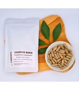 CHARDON MARIE 200 gélules dosées a 350mg enveloppe de la gélule 100% végétale