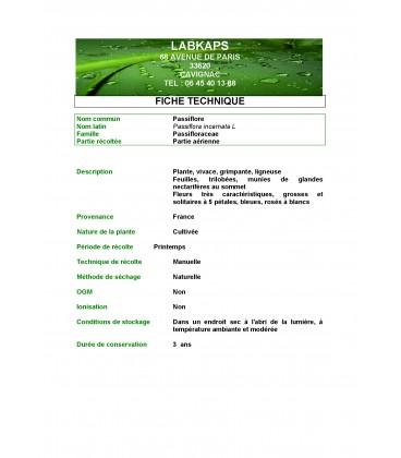 PASSIFLORE DES INDES 400 gélules